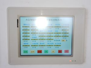 Touch Screen Control Panel for Window Ventilation
