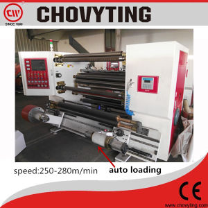 Automatic High Speed Plastic Film Paper Slitter and Rewinder Slitting&Rewinding (250-280m/min) pictures & photos