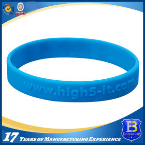 Embossed Silicone Wristband (Ele-WS009) pictures & photos