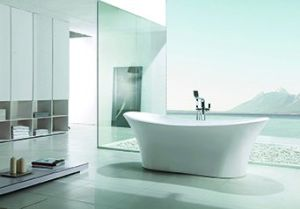 (K1528) Freestanding Acrylic Bathtubs / Massage Whirlpool Bathtubs pictures & photos