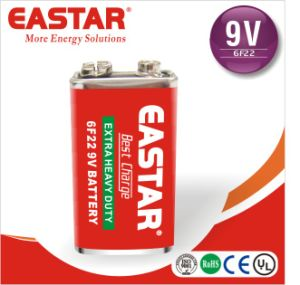 6f22 9V Battery Eastar Carbon Batteries Popular in India pictures & photos