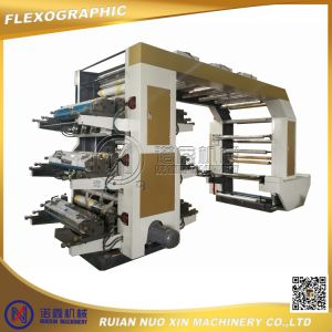 High Speed Six Color Flexographic Printing Press Machine Price pictures & photos