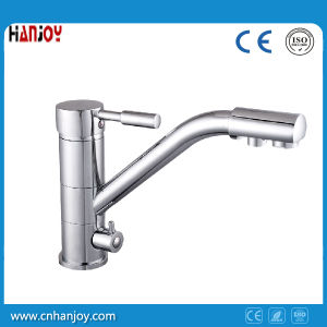 With Drink Water Deck Mounted Single Handle Kitchen Faucet (H22-555) pictures & photos