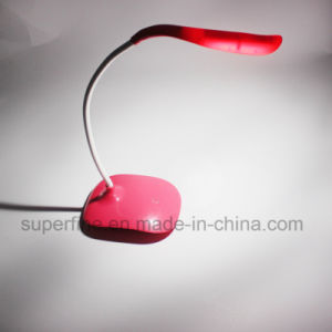 Portable Plastic Rechargeable Modern LED Table Lighting Lamp for Reading pictures & photos