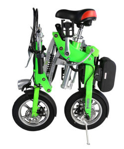 "Fashionable 12"" 2 Wheels Electric Folding Bike pictures & photos"