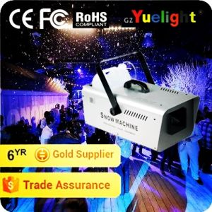 Yuelight High Quality 1500W Snow Machine for Disco Wedding Party Stage Effect Equipment pictures & photos