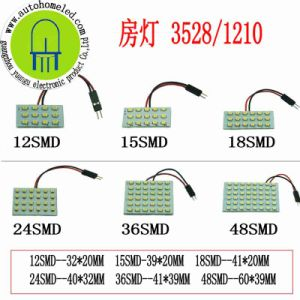 Dome 3528SMD for Car Ceiling Light Use