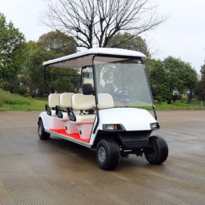 Good Quality Ce Approved 6 Seater Electric Golf Vehicles pictures & photos