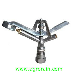 """Lawn Irrigation Zinc Alloy Rotary Sprinkler 1"""" Female for Garden Park Irrigation pictures & photos"""