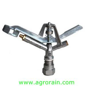 "Lawn Irrigation Zinc Alloy Rotary Sprinkler 1"" Female for Garden Park Irrigation"