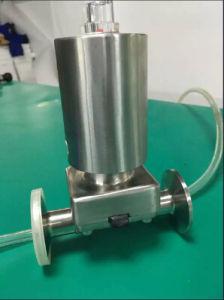 Full Stainless Steel Pneumatic Diaphragm Valve Clamp, Sanitary Diaphragm Valve pictures & photos