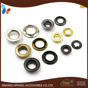 Custom Garment Accessories Six Prong Type Metal Brass Eyelet pictures & photos