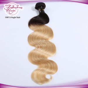 Wholesale Factory Thicker Double Drawn Body Wave Natural Color Hair pictures & photos