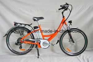 2017 Cheap Al Alloy City Ebike with Chinese Factory