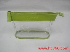 Plastic Packing Zipper Cosmetic PVC Bag pictures & photos