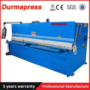 Durmapress Brand QC12y - 10X 2500 Hydraulic Pendulum Shearing Machine pictures & photos