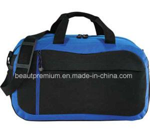 600d Black and Blue High-Capacity Shoulder Back Handbags for Men BPS088