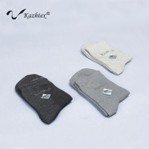 Silver Fiber Anti-Bacterial Cotton Socks for Sports Men pictures & photos