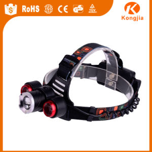 High Power Rechargeable CREE LED Mini Camping Headlamp
