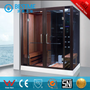 Various Sizes Bathroom Dry & Wet Steam Sauna Room (BZ-5029) pictures & photos