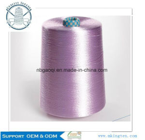 Viscose Rayon Filament Yarn 64D/24f 1300tpm Bright pictures & photos