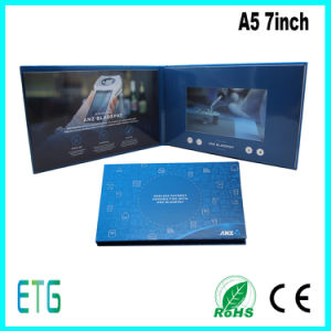 7inch Custom LCD Screen Greeting Graphic Video Cards From China pictures & photos