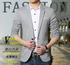 Formal Blazer Latest Design Men Suit Blazers Europe Men Suits pictures & photos
