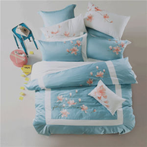 Fitted Sheet Hotel Bedding Set King Bedding for Hotel Apartment pictures & photos
