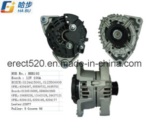 100 AMP/12 Volt, Cw, for Opel Alternator pictures & photos