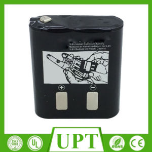 3.6V Rechargeable Ni-CD Battery for Wireless Equipment pictures & photos