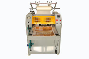 hydraulic automatic bursting film roll laminator machine pictures & photos
