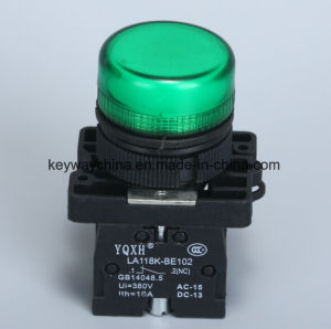22mm Push Button Switch Keyway with Red/Green/Yellow pictures & photos