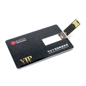 Credit Card USB Flash Drive 512MB with Free Logo Printing (TF-0422) pictures & photos