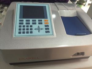 Drawell Split Double Beam UV/Visible Spectrophotometer, Spectrometer, Spectrometer for Lab Use with High Quality pictures & photos