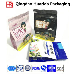 Custom Aluminum Foil Food Eight Side Seal Packaging Bag with Zipper pictures & photos