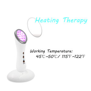 Portable PDT LED Light Photon Heating Therapy Face Tighten Acne Scar Removal Treatment pictures & photos