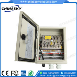 12VDC 10AMP 9CH Water-Proof CCTV Power Supply Box (12VDC10A9PW) pictures & photos
