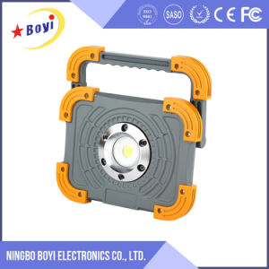 800lm Lumen 10W Mergency Rechargeable LED Work Light with Logo pictures & photos