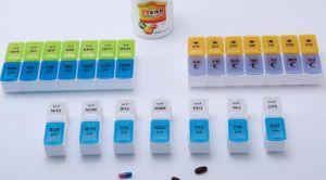 One Week 14 Case Detachable Plastic Pill Box pictures & photos