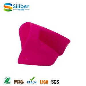 Comfortable Wholesale Non-Slip Silicone Oven Mitts, Silicone Pot Holder pictures & photos