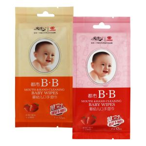 Chinese OEM Manufacture Soft Organic Baby Wet Wipes pictures & photos