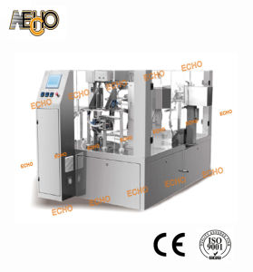 Premade Bag Rice Filling Sealing Machine Mr8-300r pictures & photos