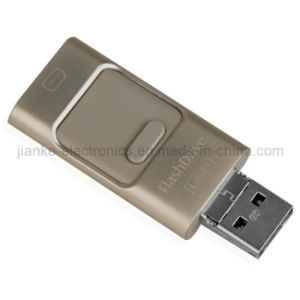 Hot Sell Mobile Phone OTG USB Flash Stick with Logo Printed (760) pictures & photos