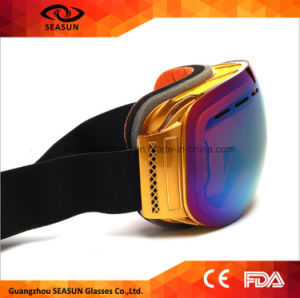 New Best Selling Anti Fog Mirror Revo PC Lens Spherical Custom Ski Snow Goggles pictures & photos