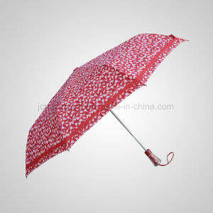 Fashion Automatic Open&Close 3 Folding Rain/Sun Umbrella (JF-AQT328) pictures & photos