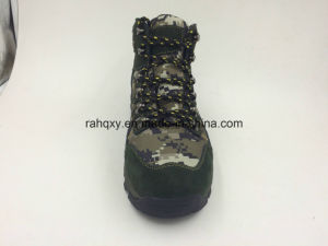 Split Leather Camo Safety Boots (16072) pictures & photos