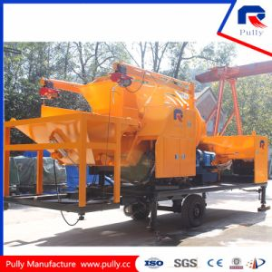 Truck Mounted Concrete Pump with 18m3/H Drum Mixer pictures & photos