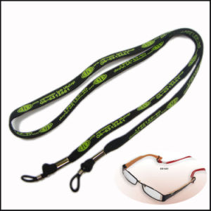 Promotion Custom Logo Pk Narrow Lanyard with Safety Buckle pictures & photos