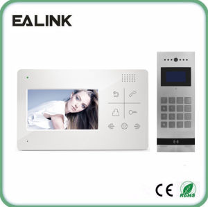 Home Security 4.3inch Video Door Phone for Multi Apartments
