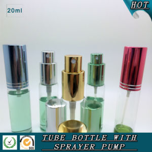 Refillable 20ml Perfume Glass Spray Bottle Cosmetic Packaging Bottle pictures & photos